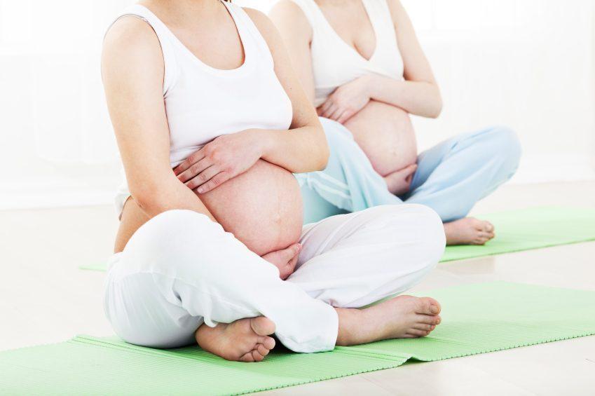 Yoga bij Zwangerschap