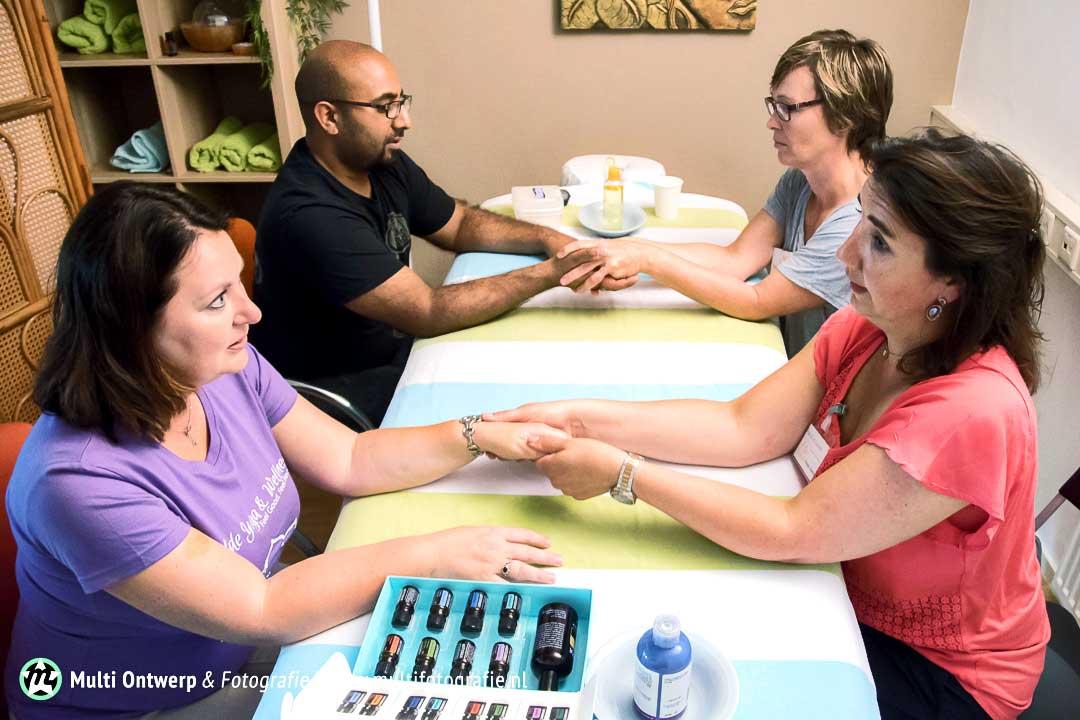 Het Massageteam In Actie